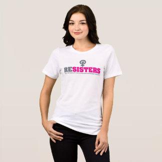 Camiseta RESISTENTE/emblema novo da resistência