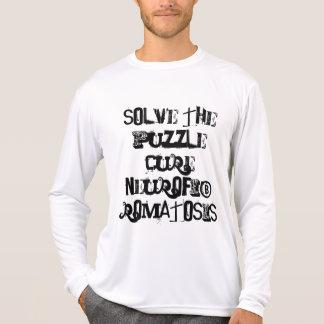Camiseta resolva o neurofibromatosis da cura do