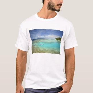 Camiseta Resort da ilha de Bandos, atol masculino norte,