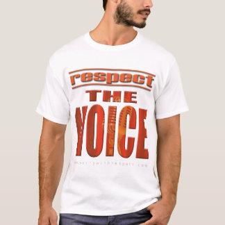 Camiseta Respeite a voz