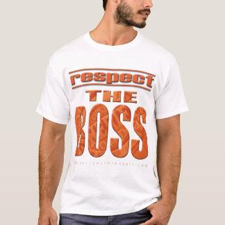 Camiseta Respeite o chefe