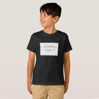 Camiseta Respeite seus pais