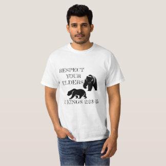 Camiseta Respeite suas pessoas idosas