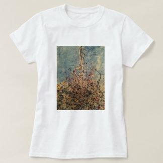 Camiseta respingo básico da arte do gotejamento do t-shirt