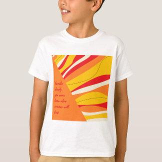 Camiseta respire profundamente