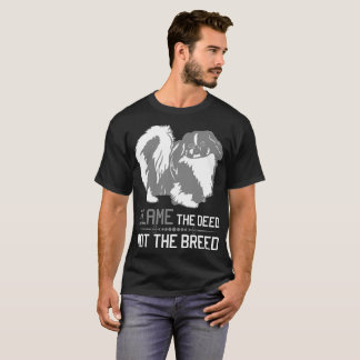 Camiseta Responsabilize a ação não o Tshirt de Pekingese da