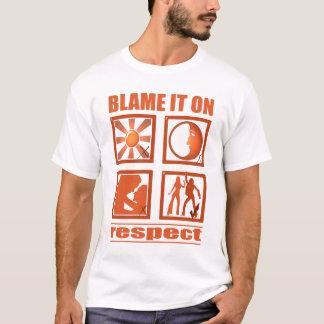 Camiseta Responsabilize-o no respeito
