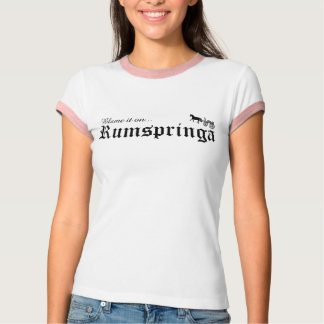 Camiseta responsabilize-o no rumspringa