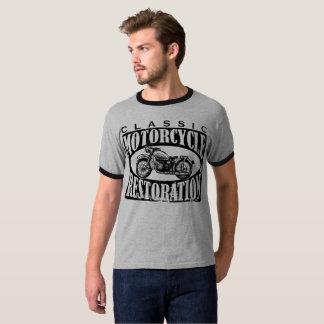 Camiseta Restauração clássica da motocicleta