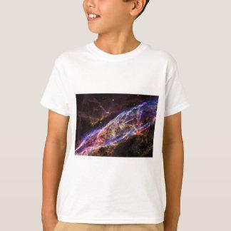 Camiseta Resto do Supernova da nebulosa do véu