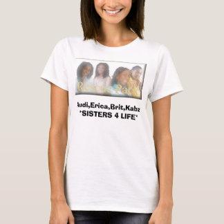 Camiseta RESUYCE, Audi, Erica, Británico, *SISTERS 4 LIFE*