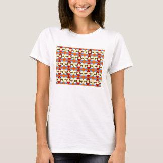 Camiseta Retângulo da edredão do Dachshund