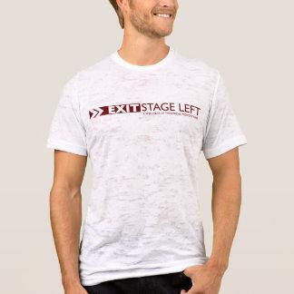 Camiseta RETIRE o t-shirt do branco do vintage dos homens