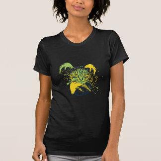 Camiseta Retrato bonito do gato do Grunge