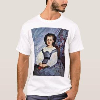 Camiseta Retrato da alface romana Lancaux da senhorita