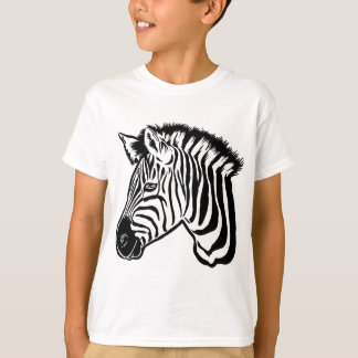 Camiseta Retrato da zebra