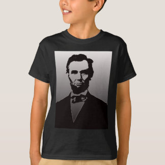 Camiseta Retrato de Abraham Lincoln
