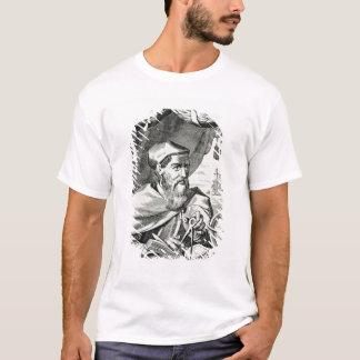 Camiseta Retrato de Amerigo Vespucci