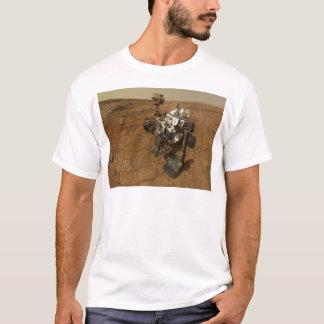 Camiseta Retrato de auto da curiosidade de Marte