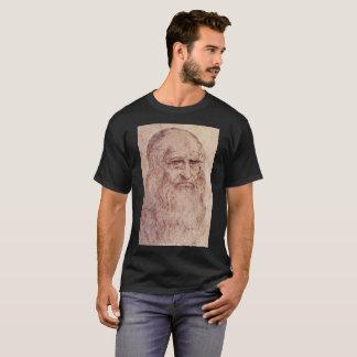 Camiseta Retrato de auto de Leonardo da Vinci