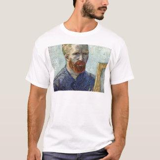 Camiseta Retrato de auto de Van Gogh