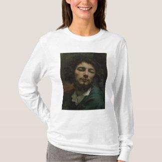 Camiseta Retrato de auto ou, o homem com uma tubulação,