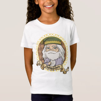 Camiseta Retrato de Dumbledore do Anime