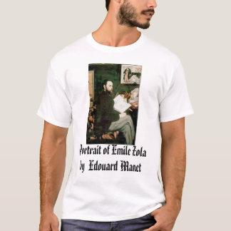 Camiseta Retrato de Emile Zola Edouard Manet, Portrai…