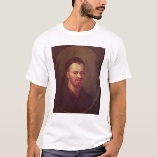 Camiseta Retrato de Francois Rabelais, satírico francês