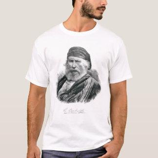 Camiseta Retrato de Giuseppe Garibaldi