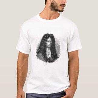 Camiseta Retrato de Gottfried Wilhelm Baron de Leibniz
