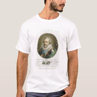 Camiseta Retrato de Henri IV, rei de France e de Navarra (