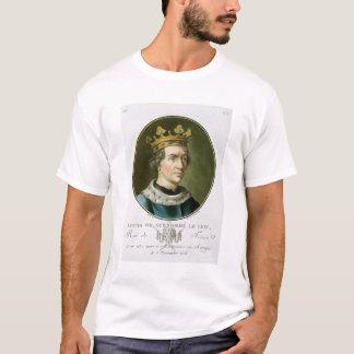 "Camiseta Retrato de Louis VIII, chamado ""Le Leão"", rei de"