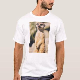 Camiseta Retrato de Meerkat