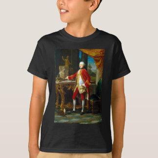 Camiseta Retrato de Pompeo Batoni de um homem novo
