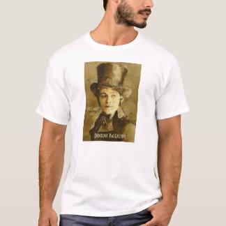 Camiseta Retrato de Rudolph Valentino