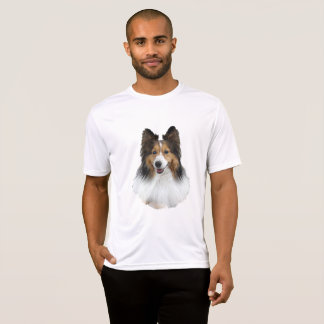 Camiseta Retrato de Sheltie