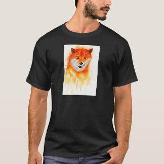 Camiseta Retrato de Shiba Inu