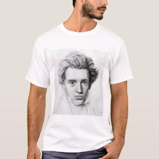 Camiseta Retrato de Soren Kierkegaard