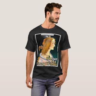 Camiseta Retrato de um t-shirt da mulher