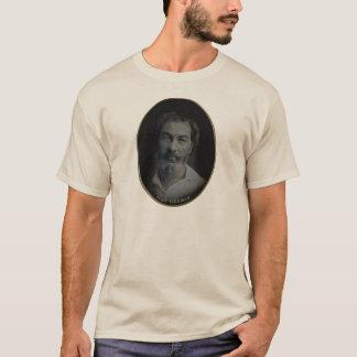 Camiseta Retrato de Walt Whitman Colorized, idade 35