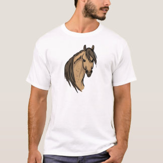 Camiseta Retrato do cavalo