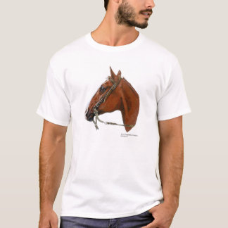 Camiseta Retrato do cavalo