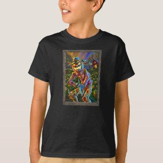 Camiseta Retrato do espantalho da lanterna de ScareJack O