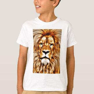 Camiseta Retrato do leão