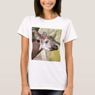 Camiseta Retrato do okapi (johnstoni do Okapia)