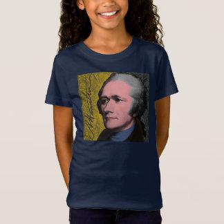 Camiseta Retrato do pop art de Alexander Hamilton