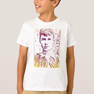 Camiseta Retrato do pop art de Nellie Bly