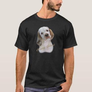 Camiseta Retrato do Spaniel de Clumber