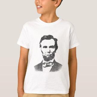 Camiseta Retrato do vintage de Abraham Lincoln
